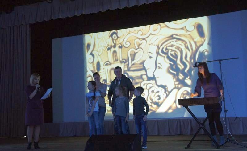 Песочное шоу Астрахань